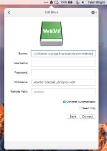 Using ExpanDrive to Mount an HCP Namespace (via WebDAV