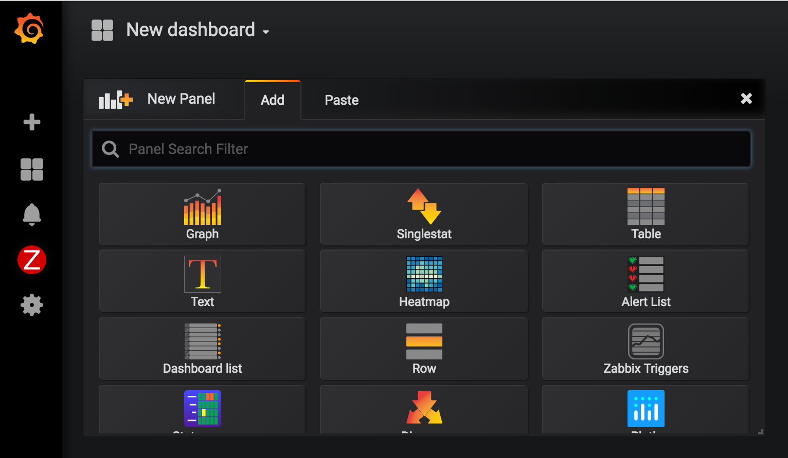 Graphing Zabbix Items with Grafana on CentOS 7 | Tyler Wright